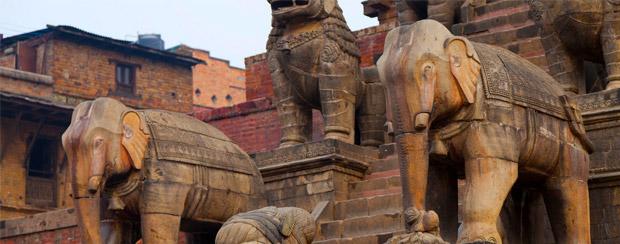 V asijských zemích je slon často uctívané zvíře