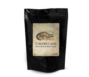 Cibetková káva Gayo Highlands Kopi Luwak