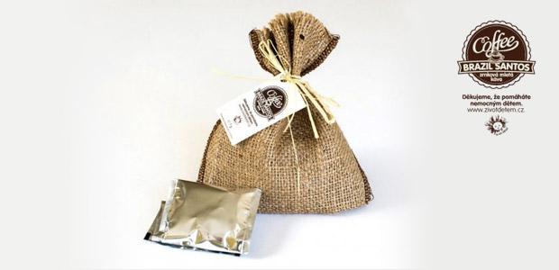 Balením kávy Brazil Santos pomůžete potřebným