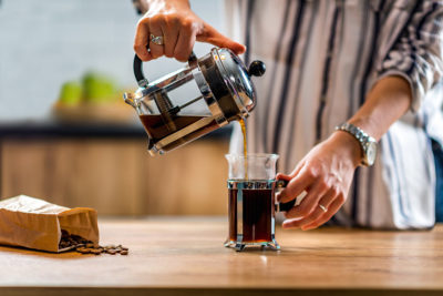 Moka konvička Bialetti – jednoduchá příprava kávy ve stylu Art Deco