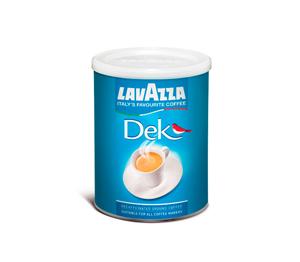 Mletá káva Lavazza Dek bez kofeinu