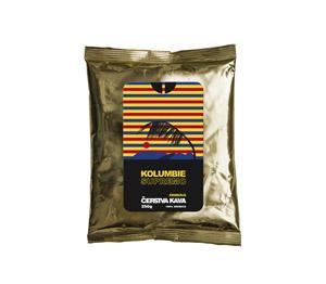 Káva Kolumbie Supremo, zrnková