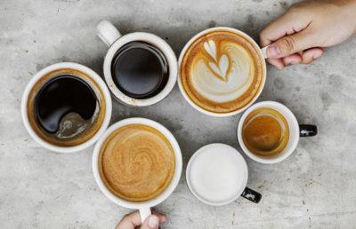 Cappucino, espresso a další - tyto nápoje byste si mohli objednat až o hodně později