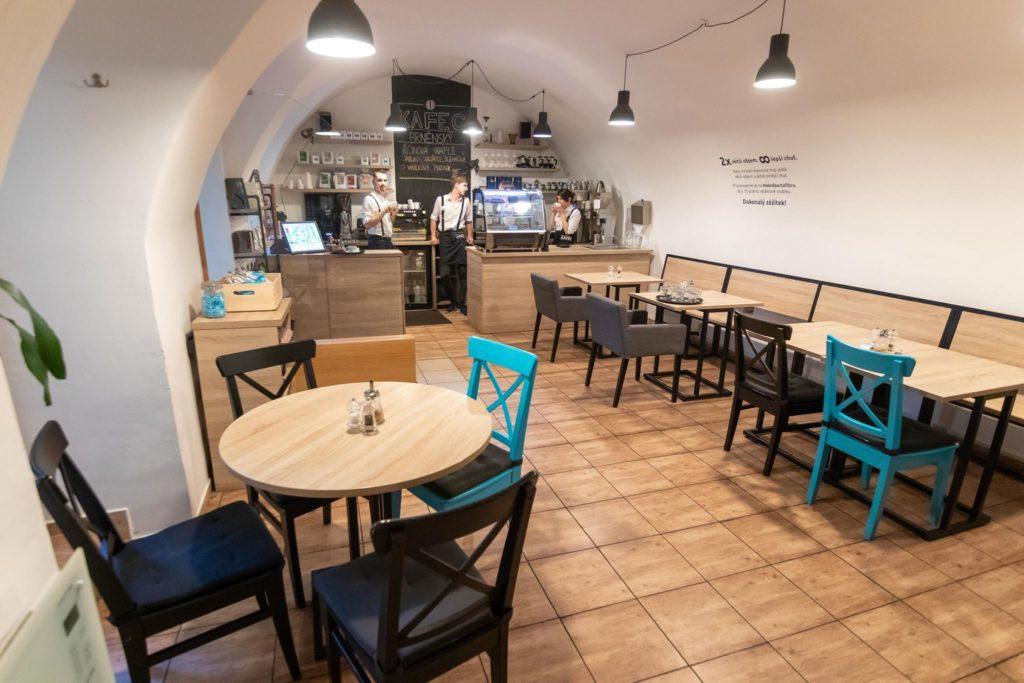 Dvoupatrový Kafec v Brně