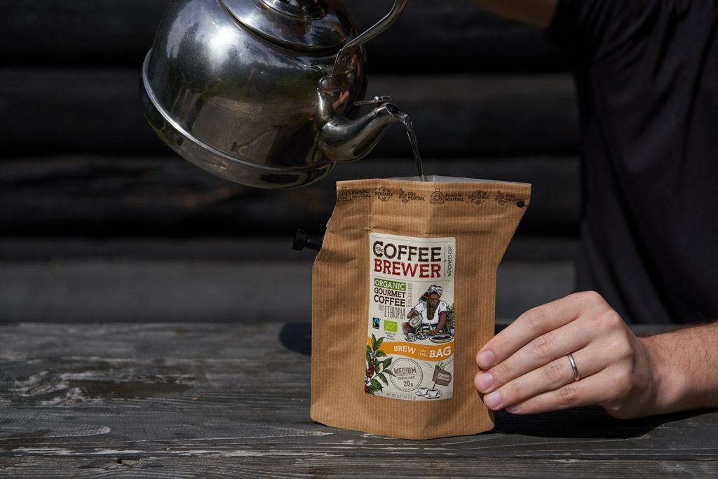Coffeebrewer Grower's Cup - kvalitní káva do batohu